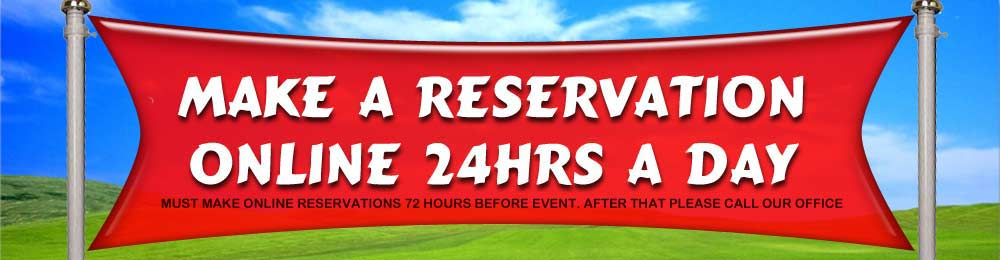 Make Online Reservations 24hrs a Day