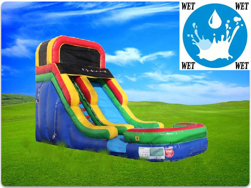 16ft Fun Water Slide