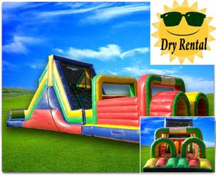 51ft Dual Obstacle Course - Dry